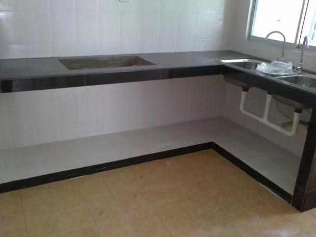 Kabinet Dapur Rumah Apartment
