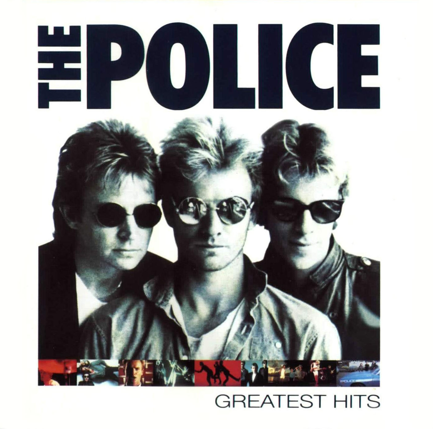 The Police Una Leyenda Viva Quot The Police Greatest Hits Quot 1992