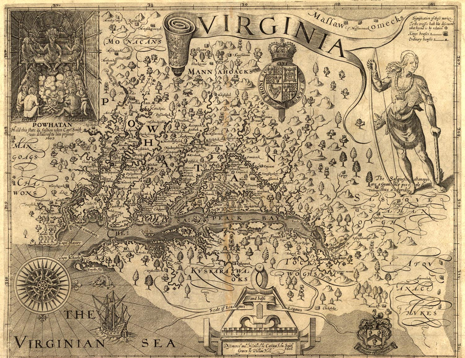 From Map Of Georgia 1732