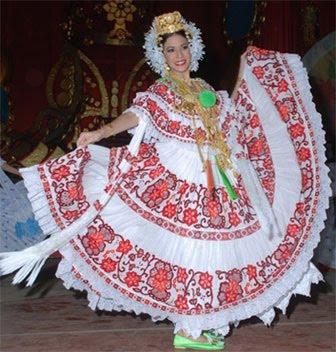 Latina vestida de azul video show culote - 2 8
