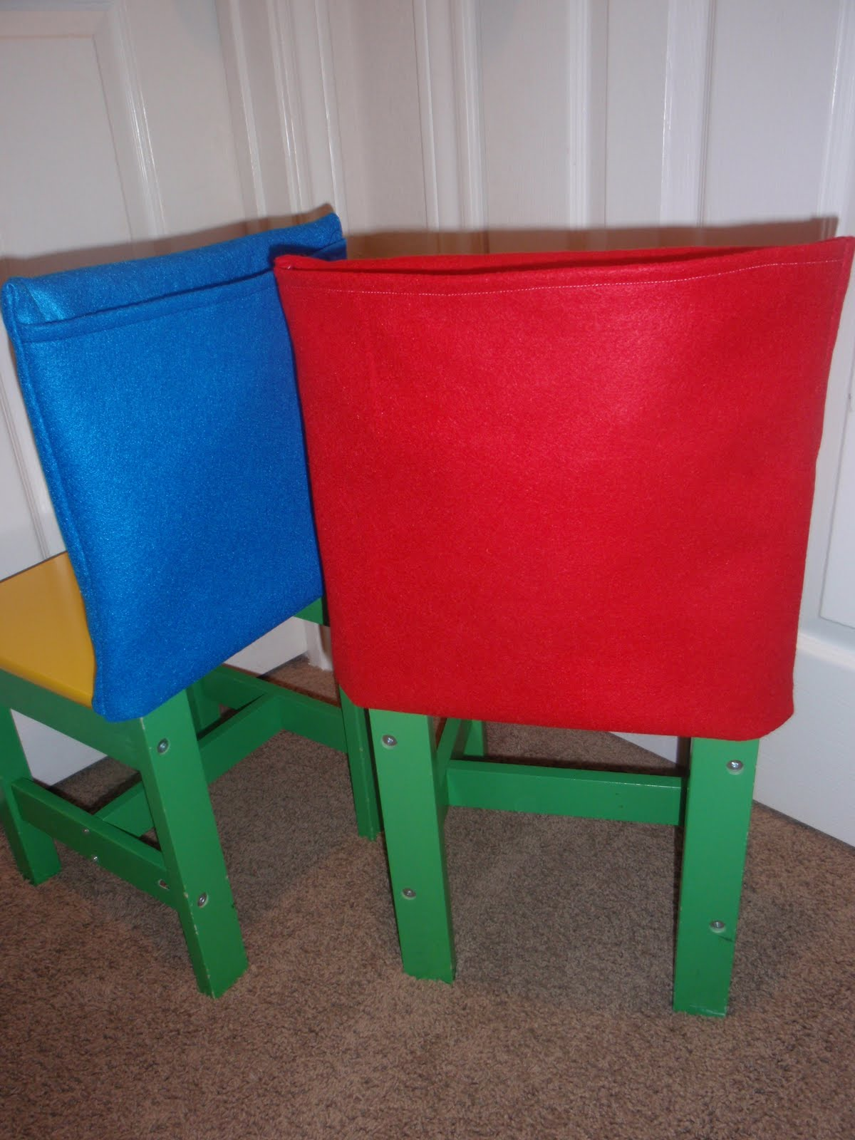 No Sew Chair Pockets Replacement Captains Chairs For Boats The Green Menagerie