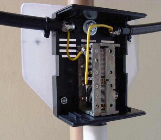 loop - capacitor variável