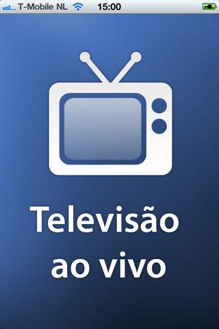 """Assista TV ao Vivo no iPhone e iPad - Aplicativo """"Televisão Ao Vivo"""""""