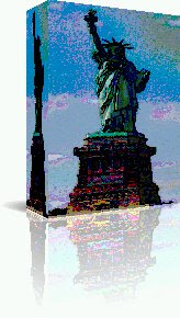 Statue of Liberty Nostradamus Artwork