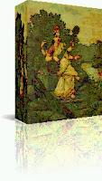 Saraswati Devi 3D Image Artwork