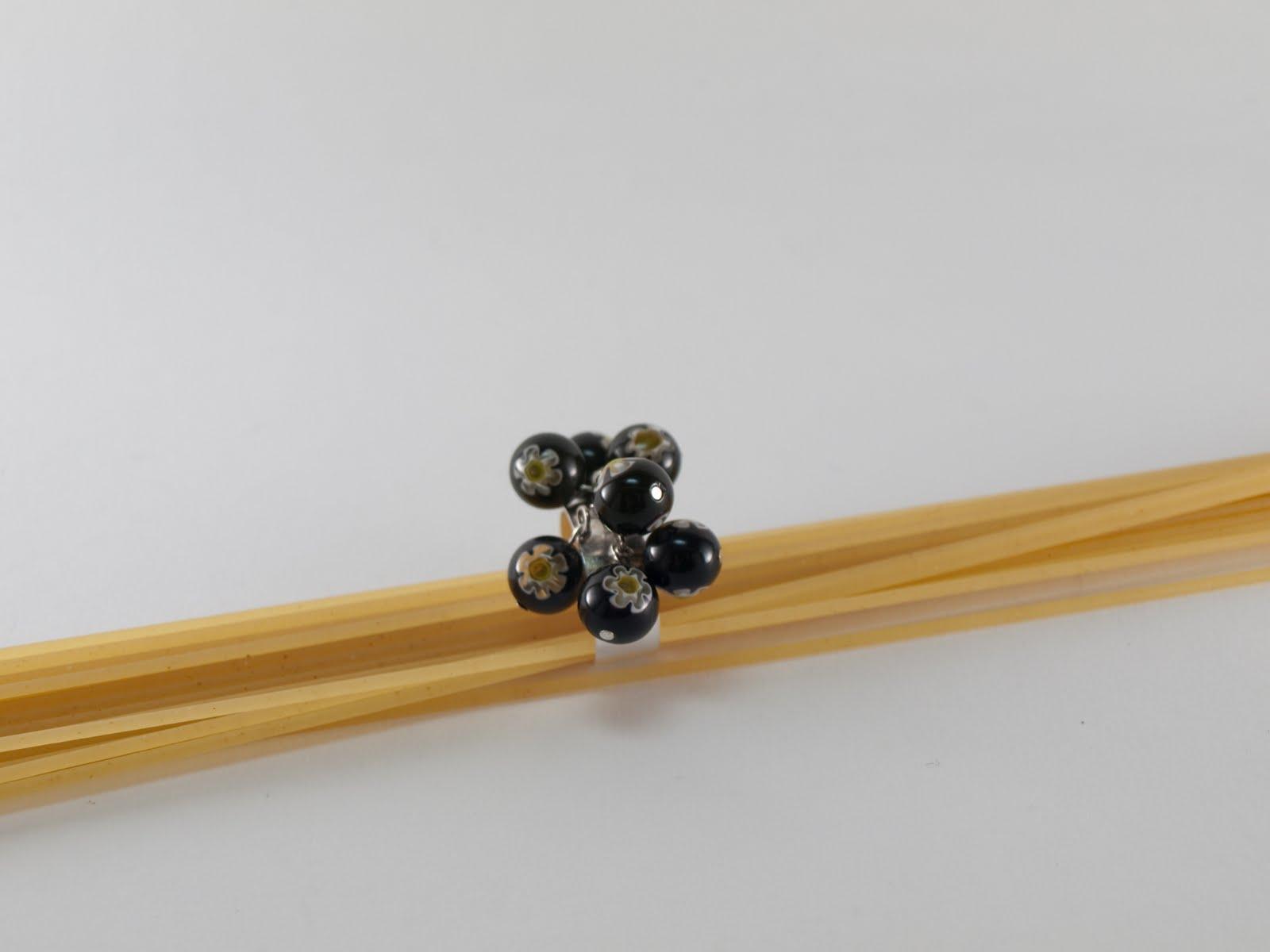 Tipitipitesa anillo de cristal de murano - Anillo cristal murano ...
