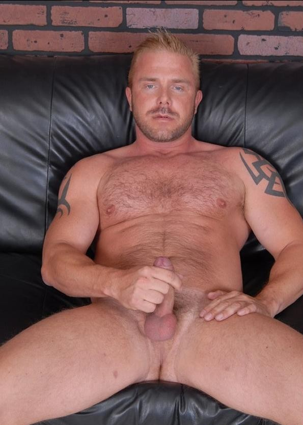 Hairy blonde hunks