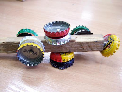 erth cre recycling art new musical instruments from