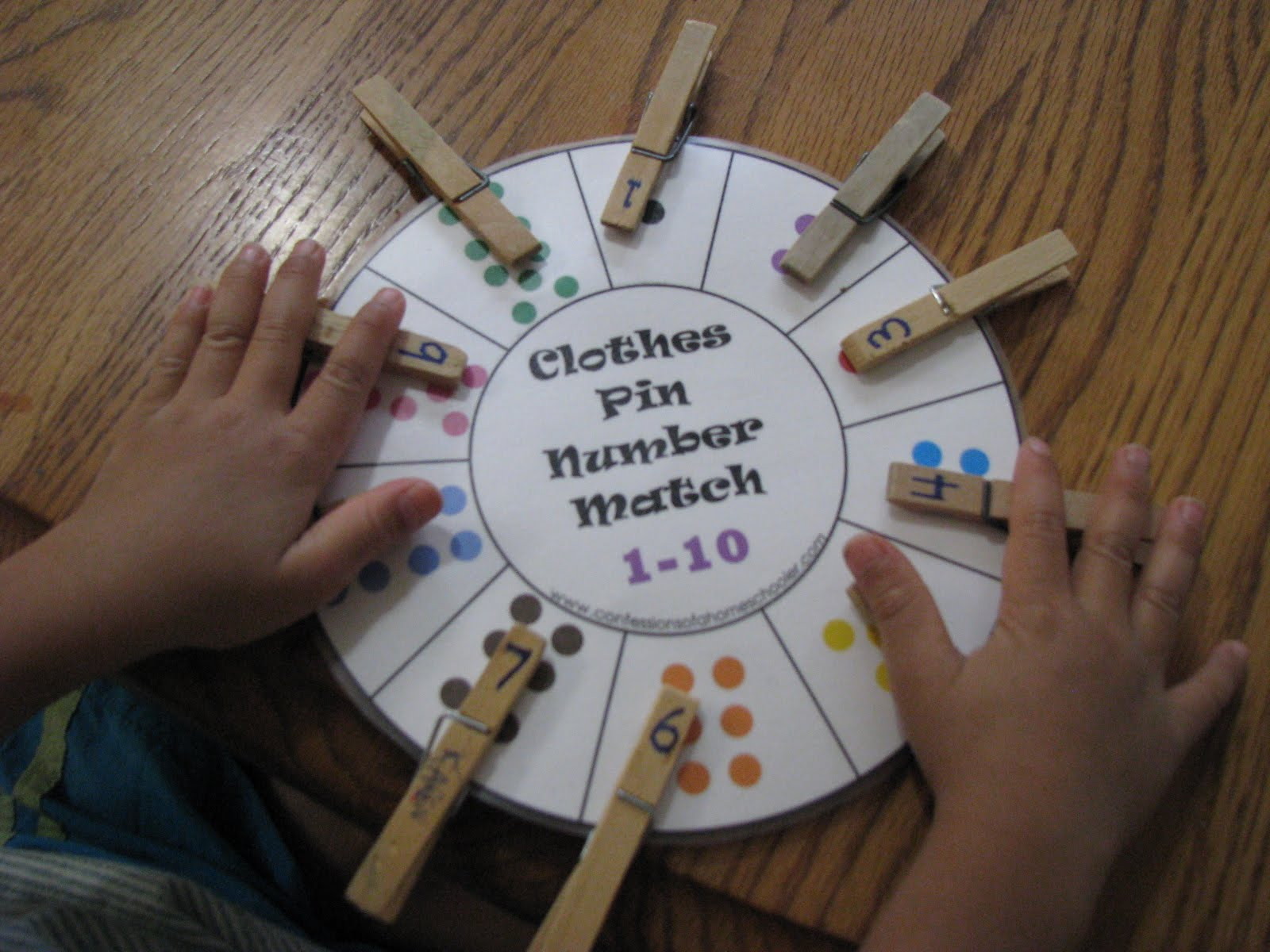 Love2learn2day Math Workbox Preschool Activities