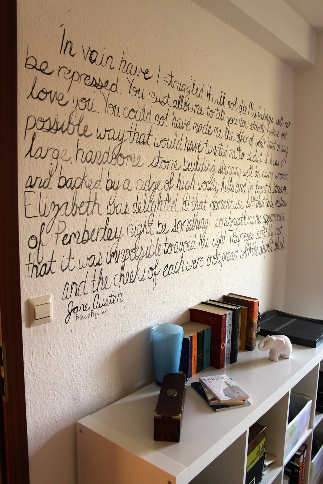 The Writing On The Wall Home Painting Project Amie