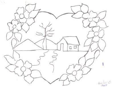 Desenhos De Paisagens Para Pintar