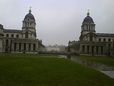 Greenwich Hospital from the Water Gate