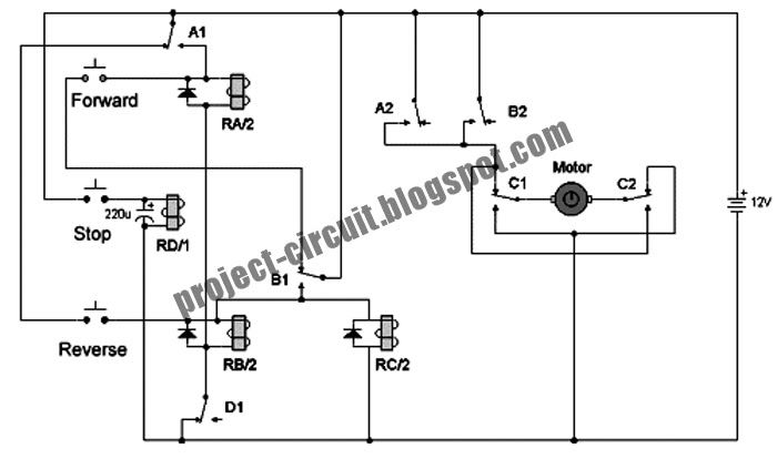 Spdt Wiring Diagram Forward Reverse Dc Motor