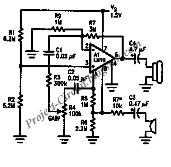 lm10 single cell microphone amplifier