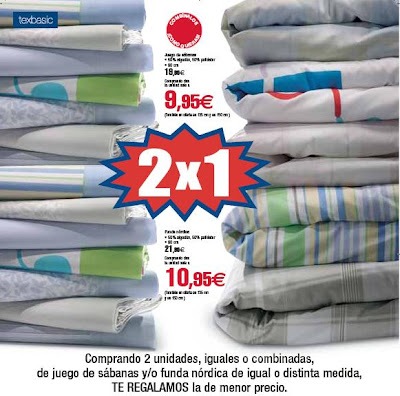 Fundas Edredon Carrefour.X4duros Com Oferta 2x1 En Sabanas En Carrefour