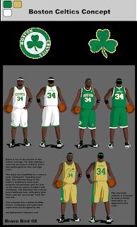 Mike S Graphics Nba Concept 2 Boston Celtics