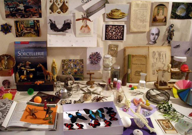 Maïssa Toulet collects trifles from antique fairs and junk shops