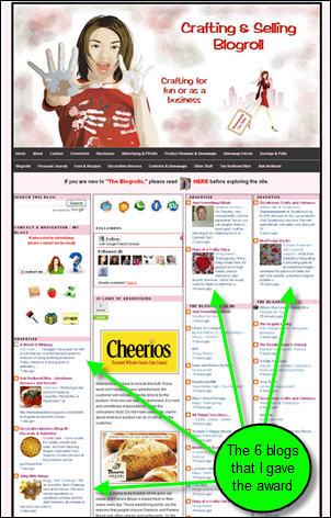 Crafting & Selling Blogroll blog