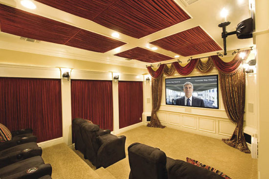 Interior Decorating,Home Design,Room Ideas: Cool Home Theater ...