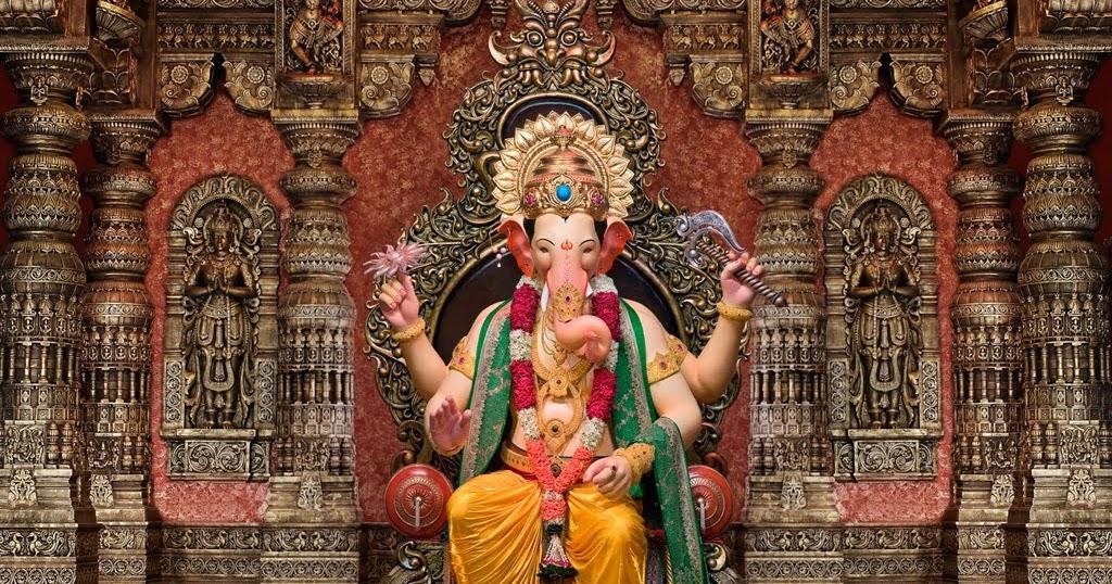 Vinayaka Chavithi Hd Wallpapers Wallpaper Lalbaugcha Raja Hd Wallpaper