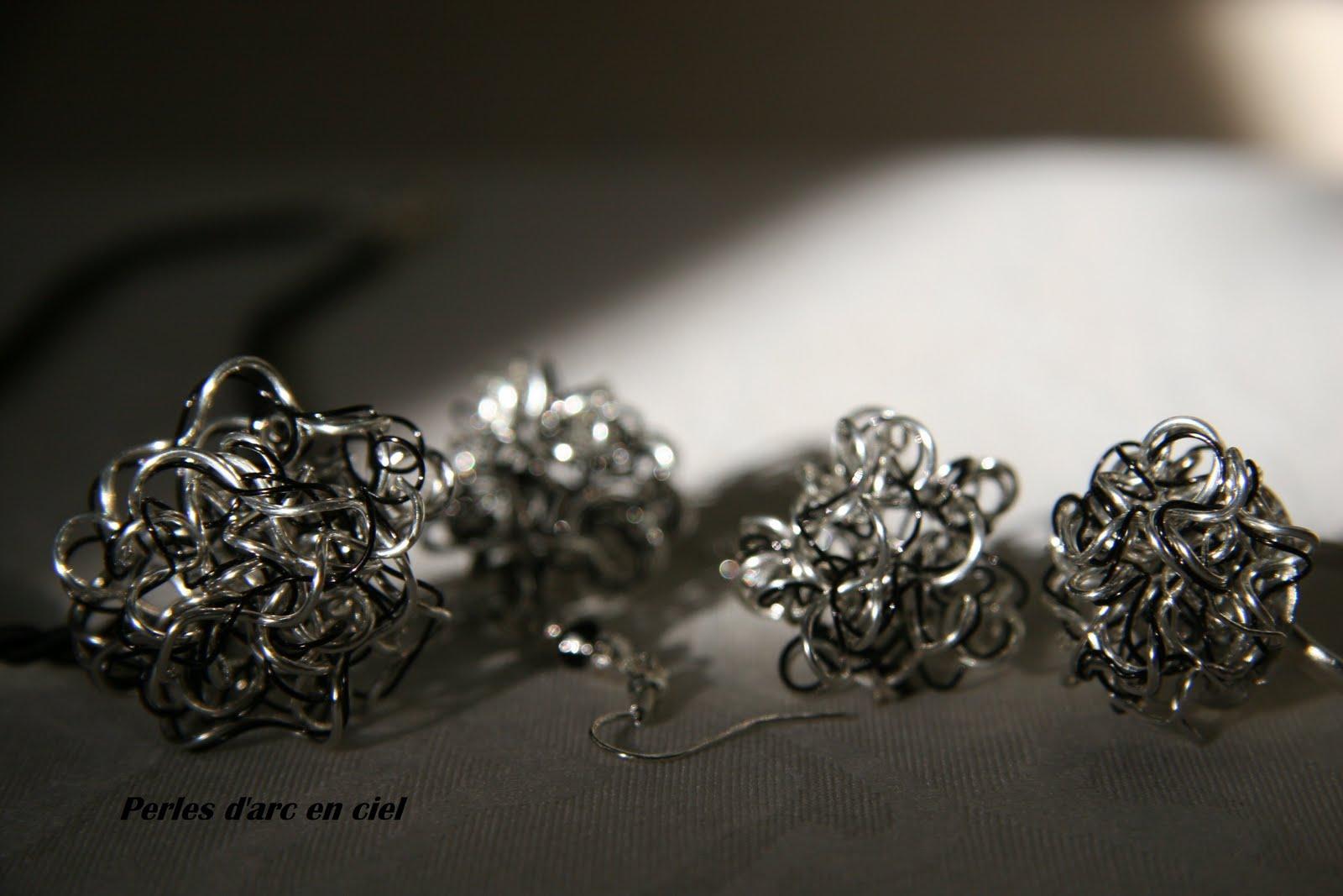 perles d 39 arc en ciel bijoux en fil de cuivre. Black Bedroom Furniture Sets. Home Design Ideas