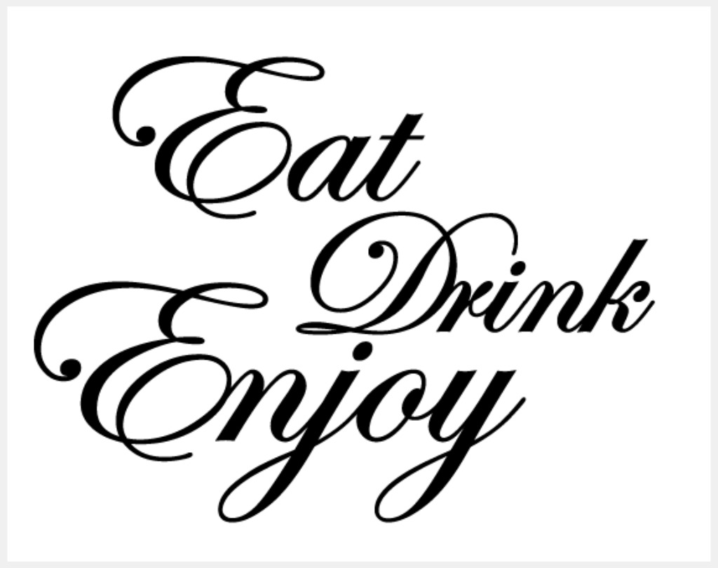 Vinyl Sticker Wall Art Kitchen Quotes Wall Decals The Drawing Room Interiors As