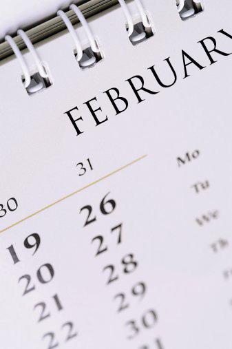 february,