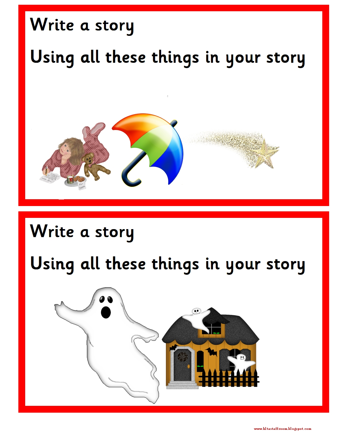 Debbie S Resource Cupboard Write A Story