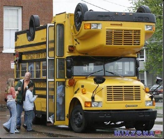Cool Bus: Road Safety Talks: World's Safest School Bus