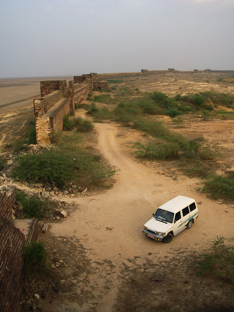 Lakhpat fort town Kutch Gujarat Travel Tourism wall broken