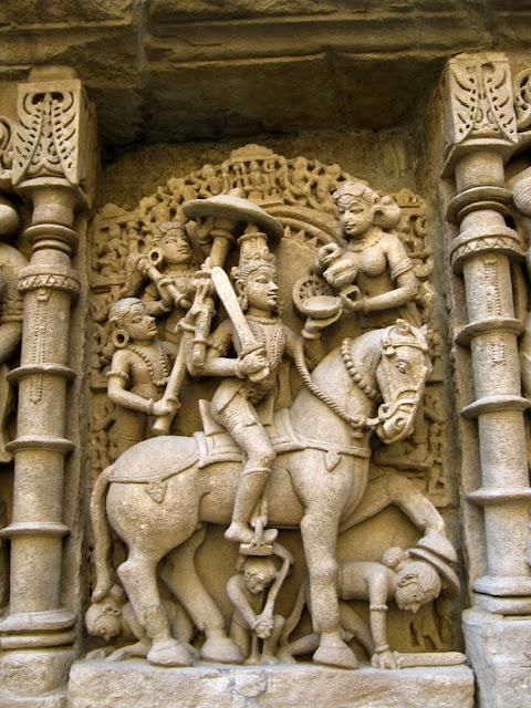 rani ki vav stepwell patan gujarat travel tourism carvings horse