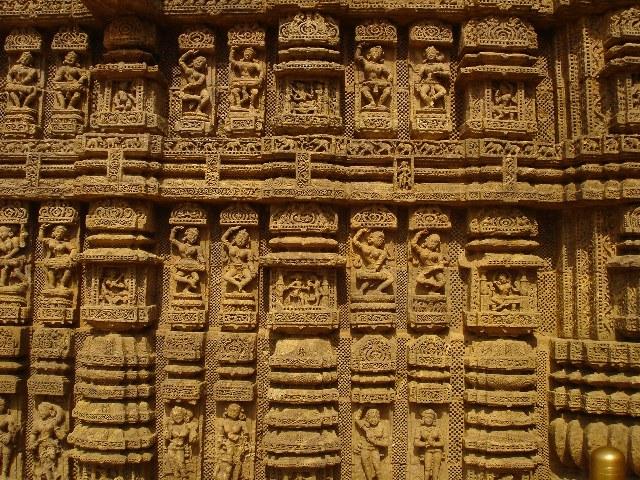 Erotic Carvings Konark Sun Temple Orissa Odisha stone carvings travel tourism