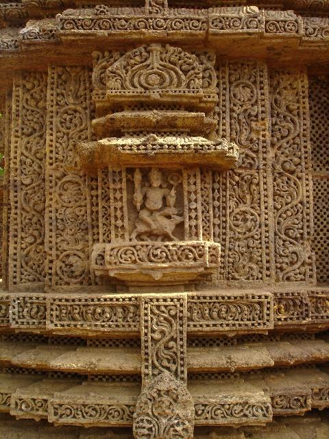 Konark Sun Temple Orissa Odisha stone carvings travel tourism