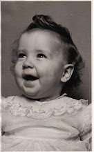 Janene Baadsgaard as a baby