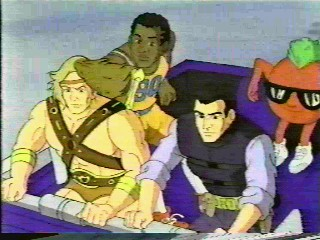 The Power Team (1990-1991) | Blog do Ranger Sombra