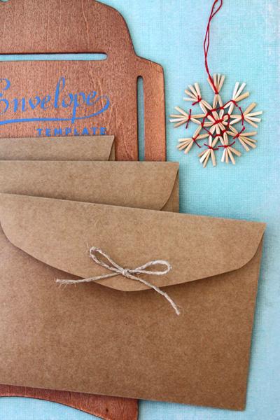 Craft Paper Envelopes X