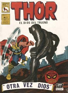tapa Thor Nº 3 La prensa