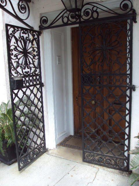 Antique Art Garden Antique Wrought Iron Gates Of