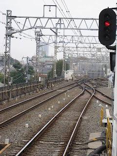 八幡山駅 留置線 電留線