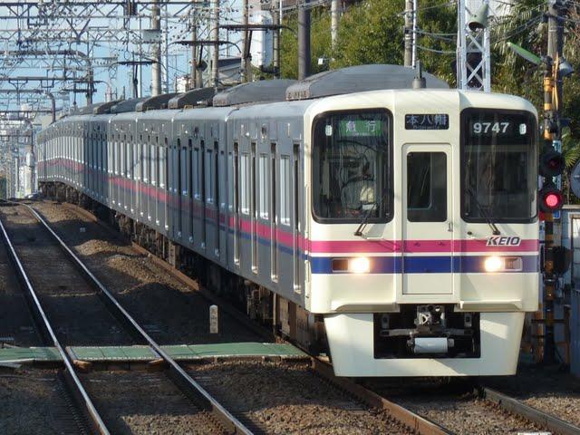 京王電鉄 急行 本八幡行き1 9000系