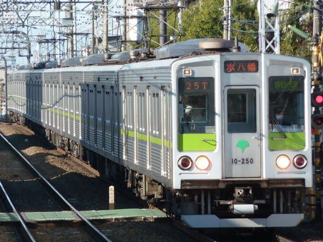 京王電鉄 通勤快速 本八幡行き3 都営10-000形