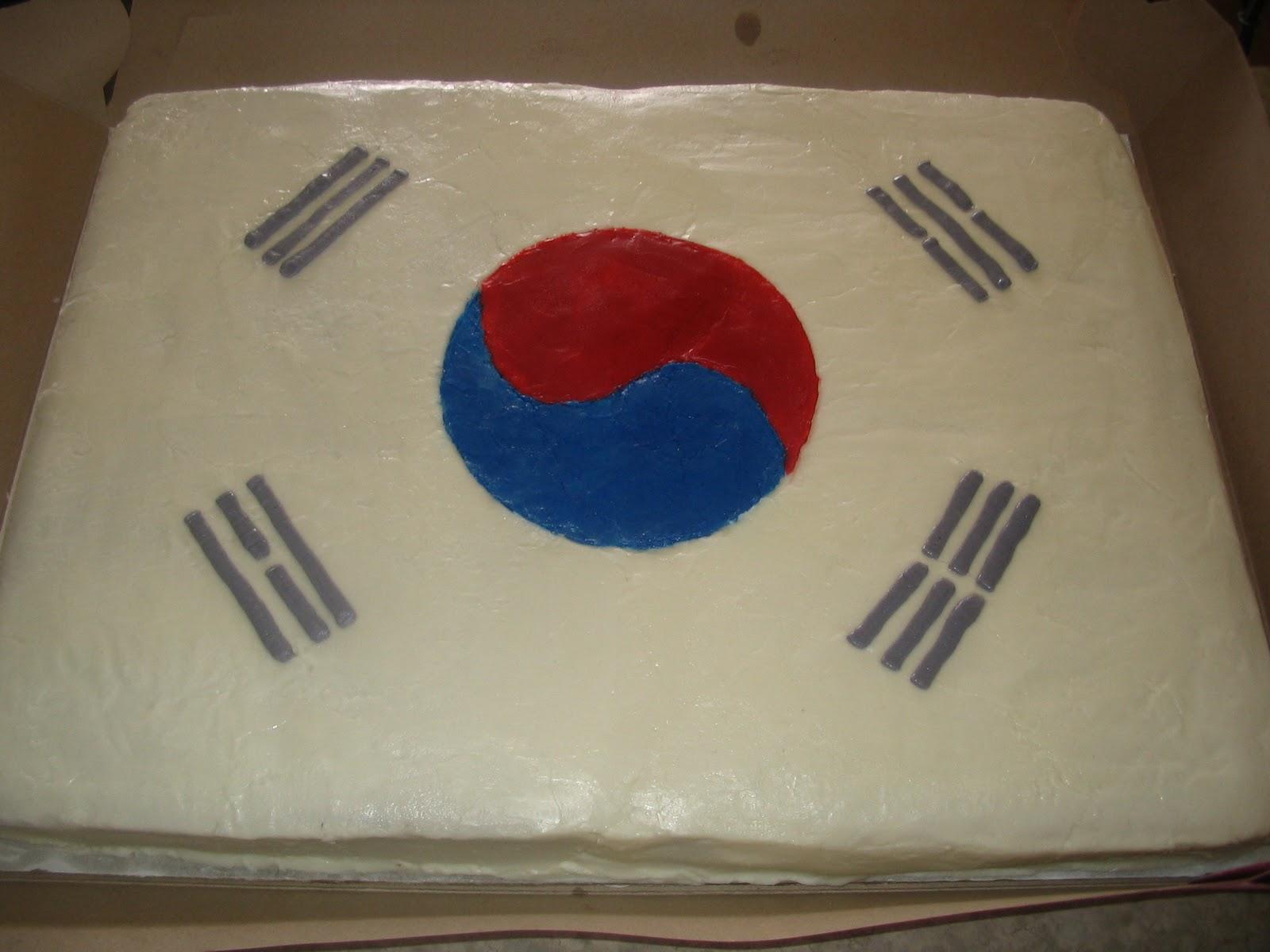 Custom Cakes Mission Flags