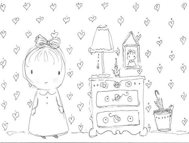 Gingerbread Cottage: Penelope's Bedroom