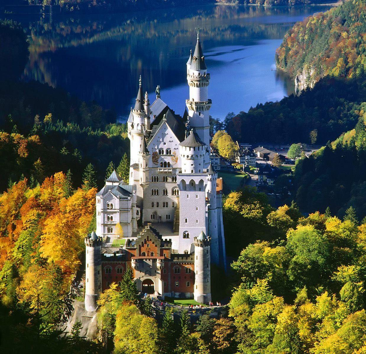 Castles from history: Neuschwanstein Castle