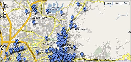 ondoy victims situational map
