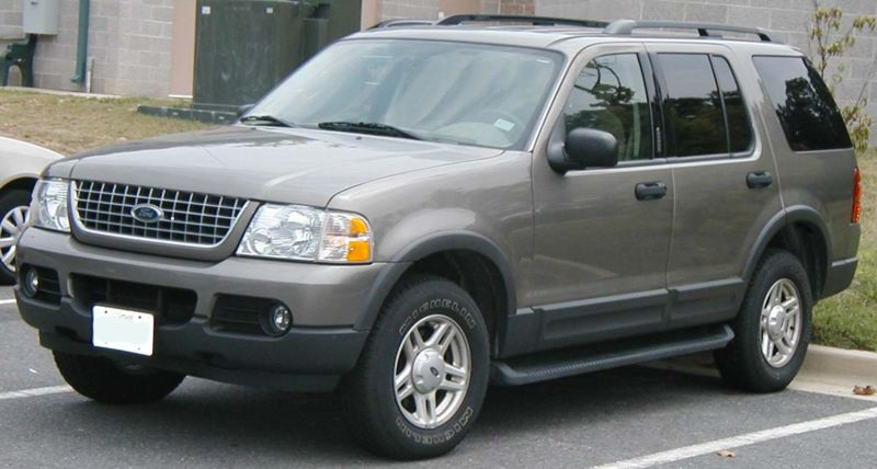 Ford Explorer on 1997 Ford F 150 4x4