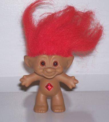 Fuzzbert, an enigma wrapped in a riddle, is a Troll that's made entirely of hair — only his two feet are visible beneath a tuft of bright green Troll hair. He communicates with the other Trolls using grunt-like noises-- (which they all seem to be able to understand just fine.) Appearance. Fuzzbert has light green sticking up hair.