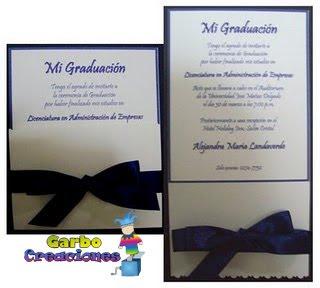 Invitacion De Graduacion Yeter Wpart Co