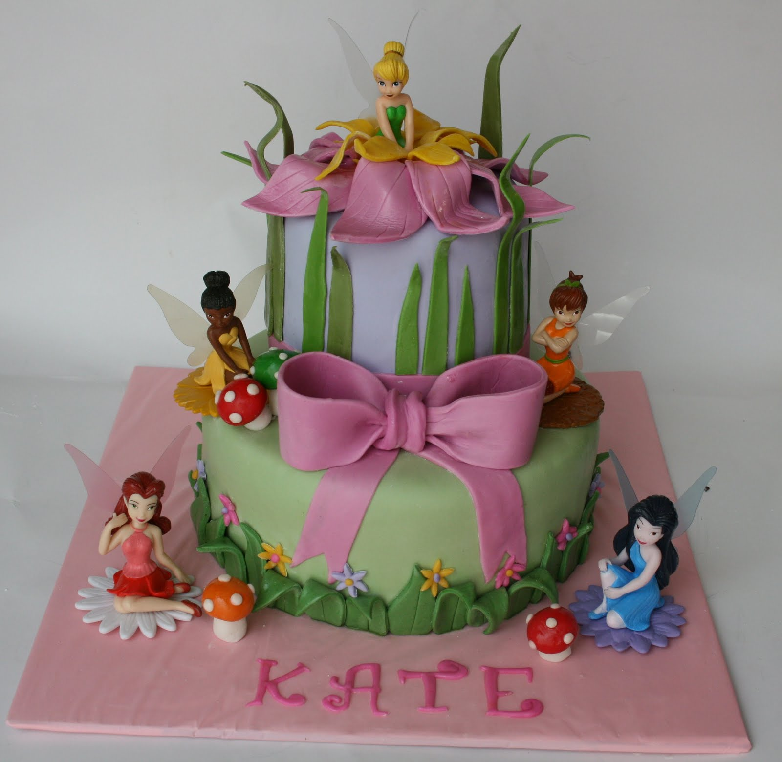 And Everything Sweet Tinkerbelle Cake