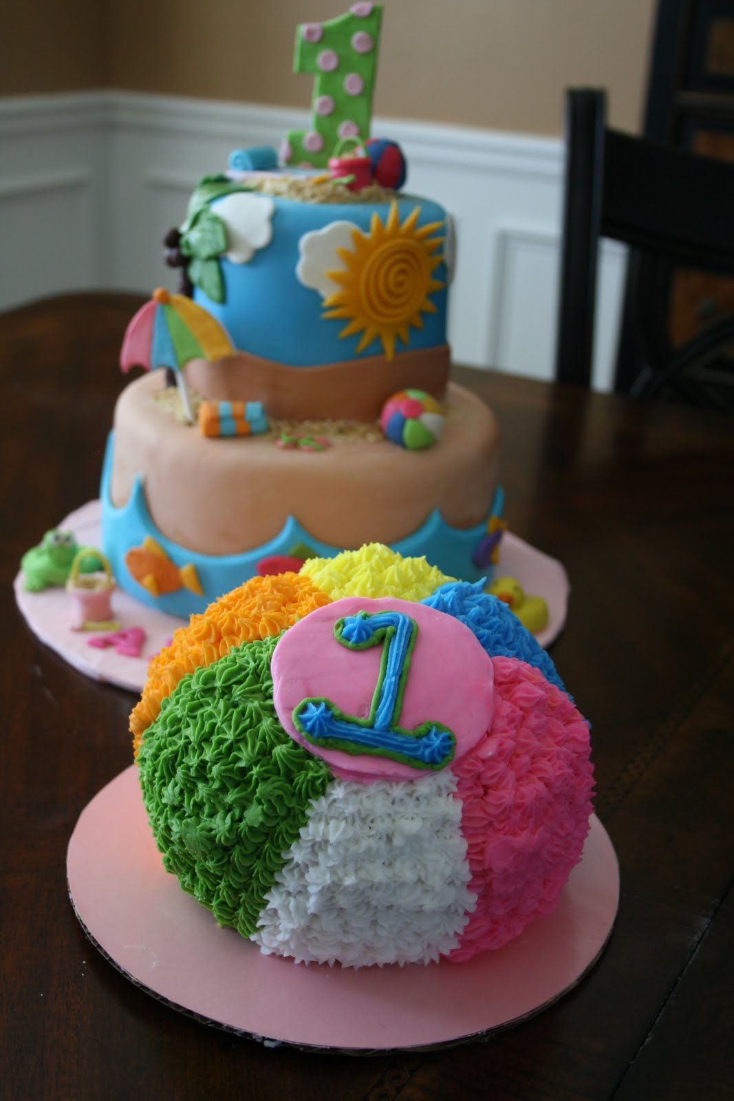 And Everything Sweet: Beach Cake